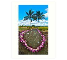 Kukaniloko - Birthing Stones on Oahu Art Print