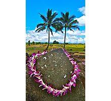Kukaniloko - Birthing Stones on Oahu Photographic Print