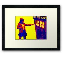 Eleven 63 Framed Print