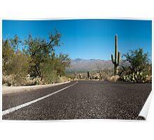 Desert Road Poster