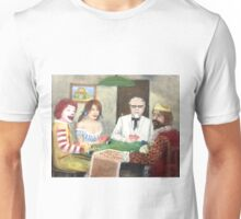 Commercial poker and pizza Unisex T-Shirt