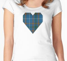 00624 Bains of Caithness Clan/Family Tartan  Women's Fitted Scoop T-Shirt
