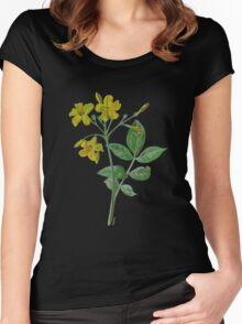 Carolina Jasmine Women's Fitted Scoop T-Shirt