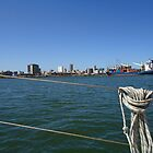 Summer Days- Durban Harbour. South Africa by Leora Haynes