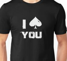 Spades love Unisex T-Shirt