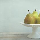 three pears by Iris Lehnhardt