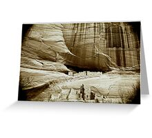 homage to a master ~ ansel adams ~ canyon de chelly Greeting Card