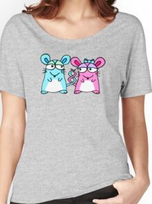 Mice In Love - A design by Perrin Women's Relaxed Fit T-Shirt