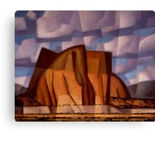 Citadel Butte Canvas Print