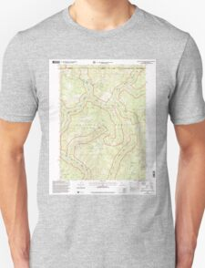 USGS Topo Map California High Plateau Mountain 100741 1997 24000 T-Shirt