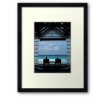 A Perfect View – Seychelles Framed Print