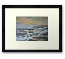 Lands End Framed Print
