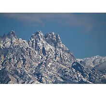 Mid-winter in the Peaks of the Organ Mountains Photographic Print