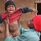 Mozambique boy cry out by eddiebotha