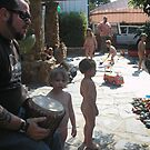Kids playing by eddiebotha