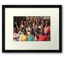Children galorious Framed Print