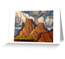 Tug Boat Butte Greeting Card