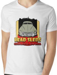 Lead Sled Mens V-Neck T-Shirt