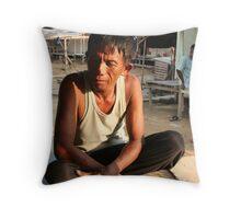 Indonesian sun Throw Pillow