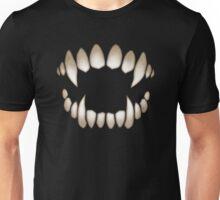 Halloween Fangs Unisex T-Shirt