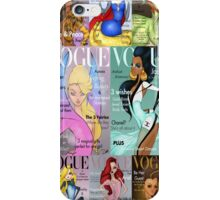 All Princesses Vogue Magazine Iphone Case iPhone Case/Skin