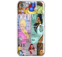 All Princesses Vogue Magazine Iphone Case iPhone Case/Skin
