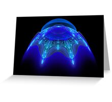 Alien Visitor Greeting Card