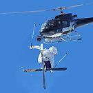 filming a skier by neil harrison