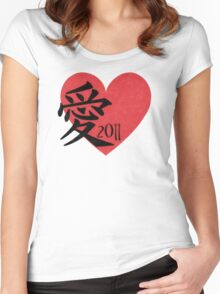 Love 2011 Women's Fitted Scoop T-Shirt
