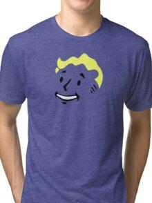 Pip Boy Face - Fallout Tri-blend T-Shirt