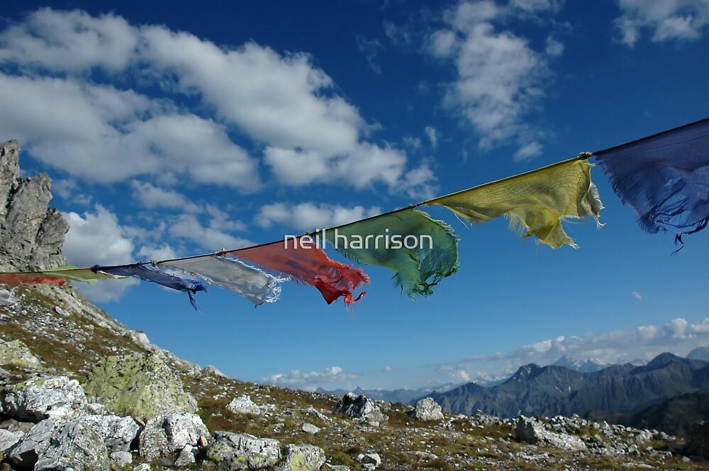 prayer flags by neil harrison