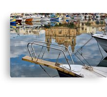 Church in the Water Canvas Print