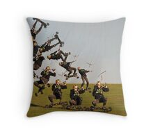 Up,Up and Awa......and back down again Throw Pillow
