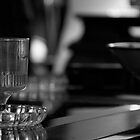 Wineglass On A table by Andrew Lapierre