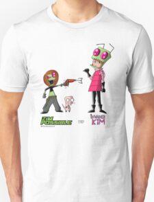 Zim Possible vs Invader Kim T-Shirt