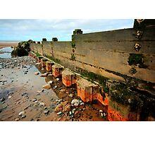 Low Tide Groyne Photographic Print