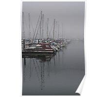 Weymouth yachts Poster
