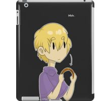 yithus, let down your hair! iPad Case/Skin
