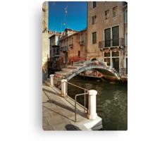 Ponte Chiodo (Nail Bridge) - Venice Canvas Print