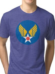 US Army Air Corps Hap Arnold Wings Tri-blend T-Shirt