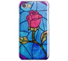Beauty and the Beast Flower Glass Iphone Case iPhone Case/Skin