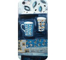 cups in conversation iPhone Case/Skin