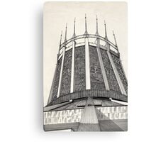 112 - R. C. CATHEDRAL OF LIVERPOOL - DAVE EDWARDS - INK - 1985 Canvas Print