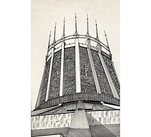 112 - R. C. CATHEDRAL OF LIVERPOOL - DAVE EDWARDS - INK - 1985 Photographic Print