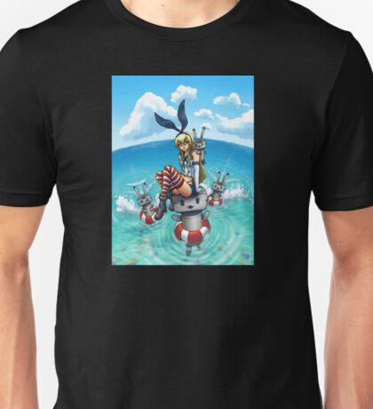 Shimakaze in the Sea Unisex T-Shirt