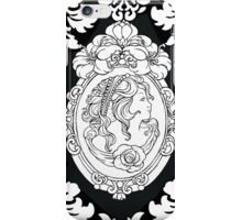 Black an White Cameo Iphone Case iPhone Case/Skin