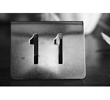 11 Photographic Print