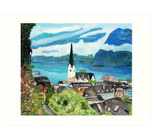 Hallstatt,  Austria Art Print