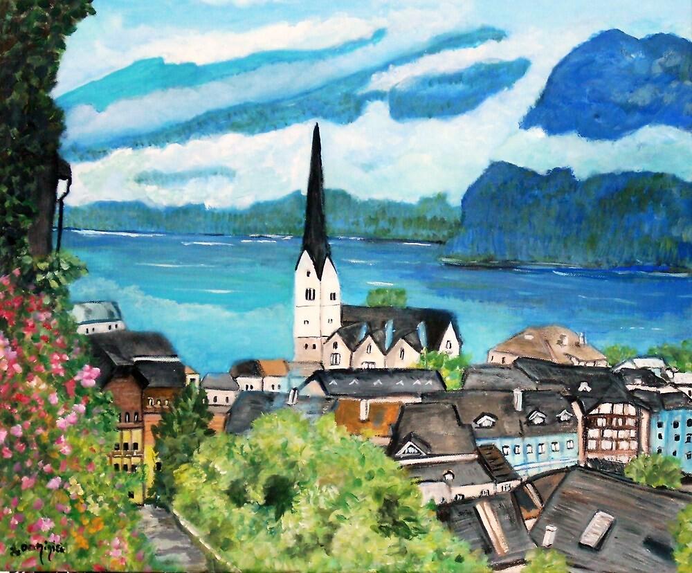 Hallstatt,  Austria by Teresa Dominici