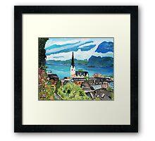 Hallstatt,  Austria Framed Print
